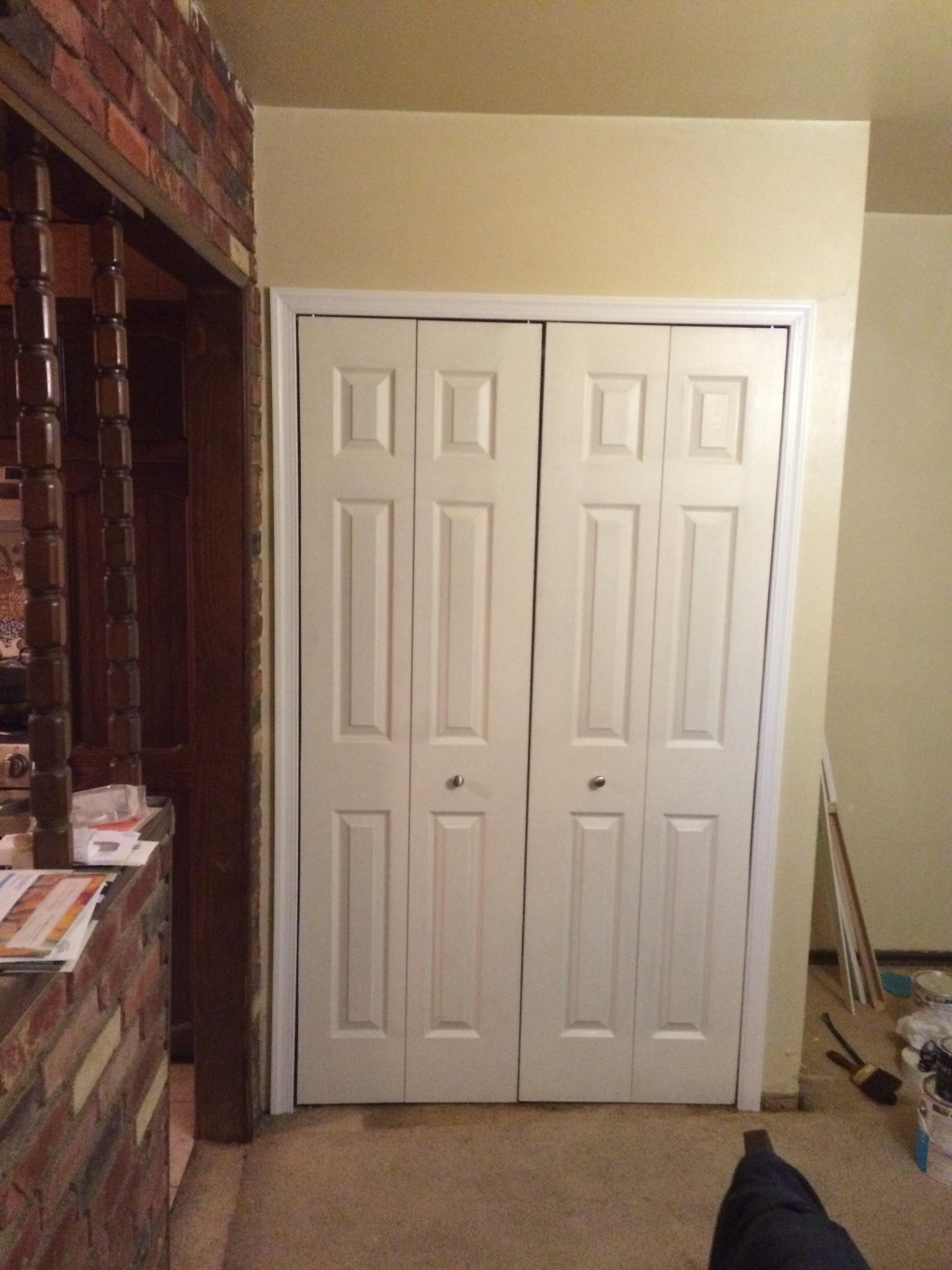 Six Panel Closet Doors Closet Ideas